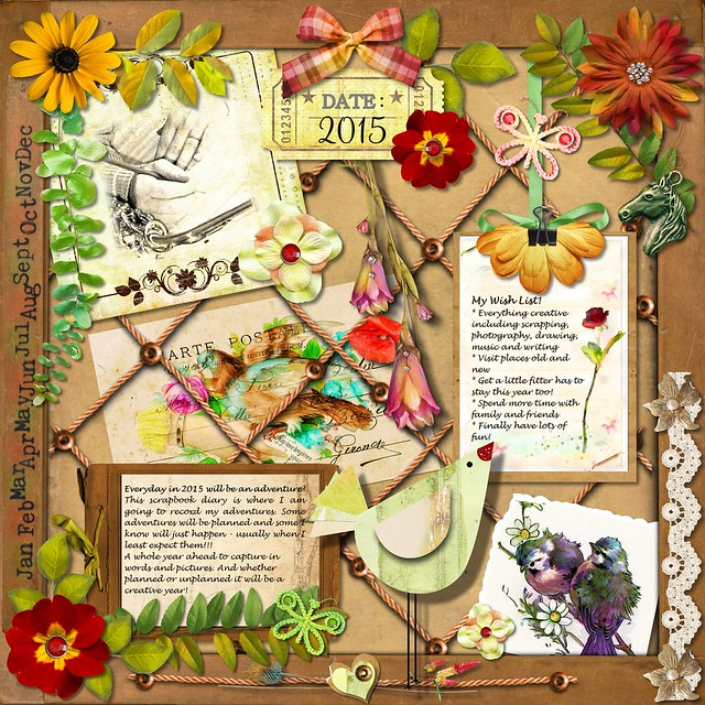 My Scrapbook Diary 2015 Wish List