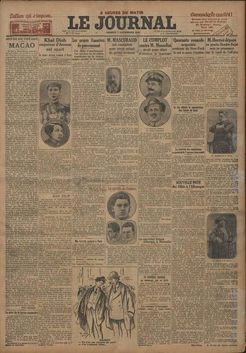 Le Journal, 7.nov.1925.