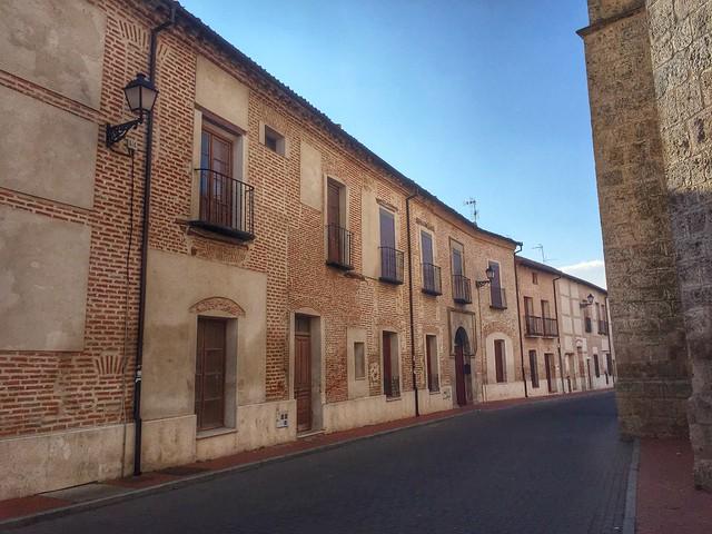 Calle de la villa de Olmedo (Valladolid)