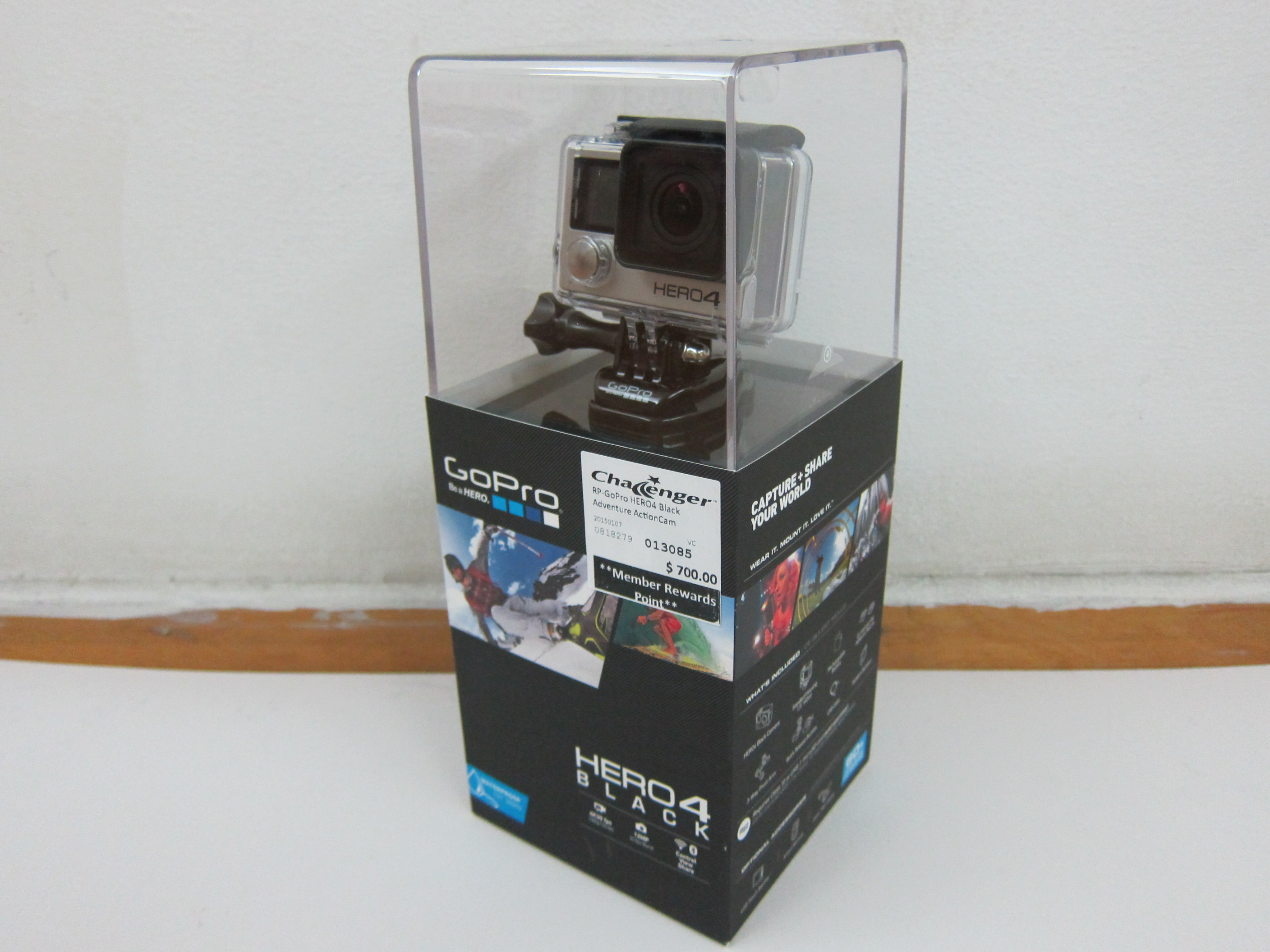 Gopro Hero4 Black Edition Blog Hero Hd Action Camera Box