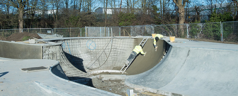 Dunstable Skatepark Build 2015 Week-1