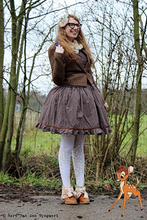 Outfit: 18.1.2015 - Disneybound - Bambi