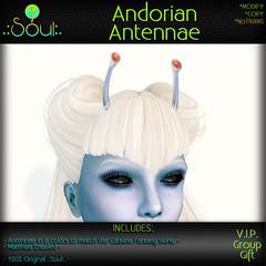 2015 (GG) Andorian Antennae