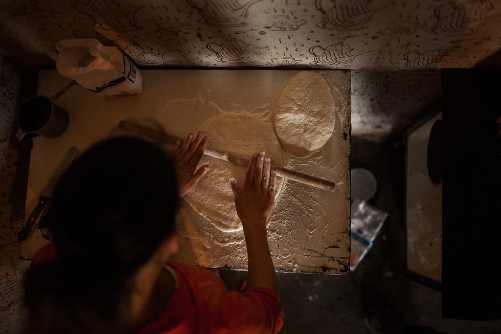 Vakarókészítés Zsófiéknál | Fotó: Magócsi Márton