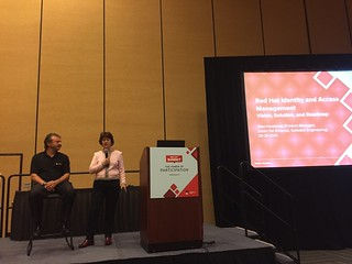 Smite I Pal and Ellen Newlands talk identity management at Red Hat Summit.