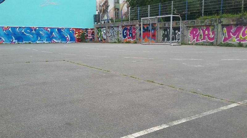 05. Tag (Do. 16.06) - Fußball aufm Bolzplatz