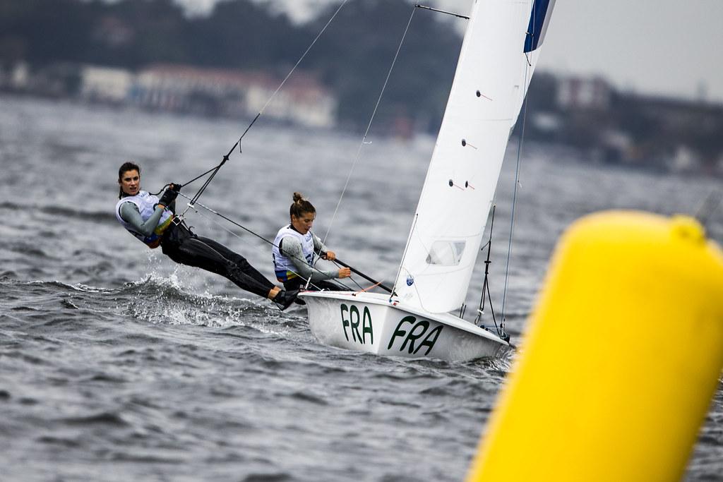 Camille Lecointre et Hélène Defrance RIO20168Copyright Sailing Energy - World Sailing