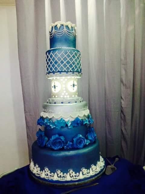 Sapphire Cake by Jomark Capacio