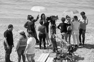 27 Le verità - Backstage - Spiaggia