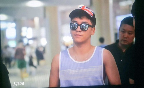 Seung Ri - Incheon Airport - 02aug2015 - Just_for_BB - 03