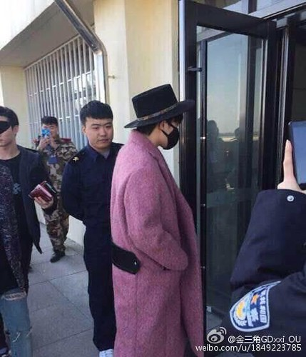 Big Bang - Harbin Airport - 21mar2015 - 金三角GDxxi_OU - 01