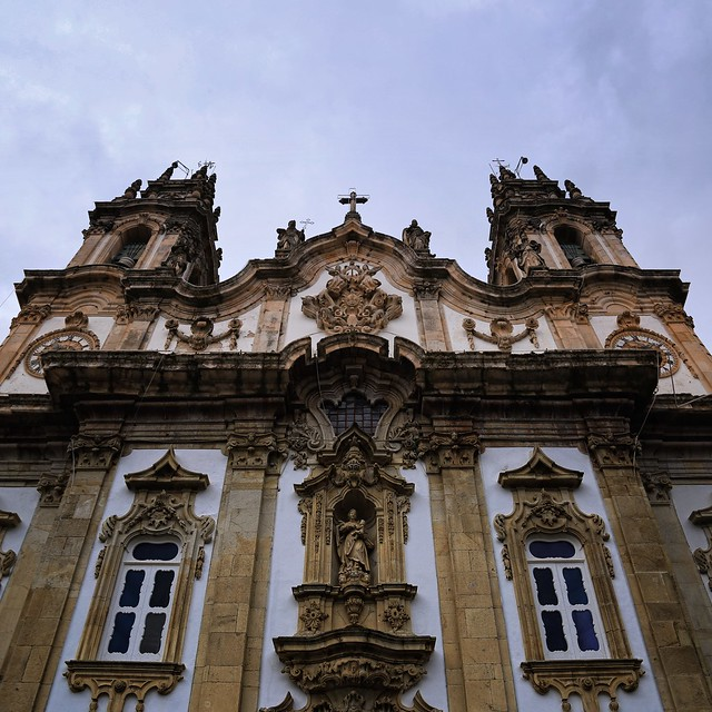 The famous baroque church if Sanctuary of Nossa Senhora dos Remédios