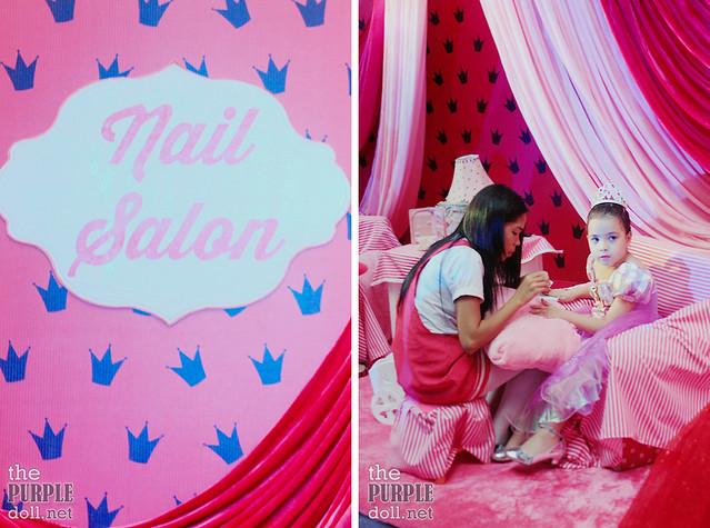 Nail Salon Booth