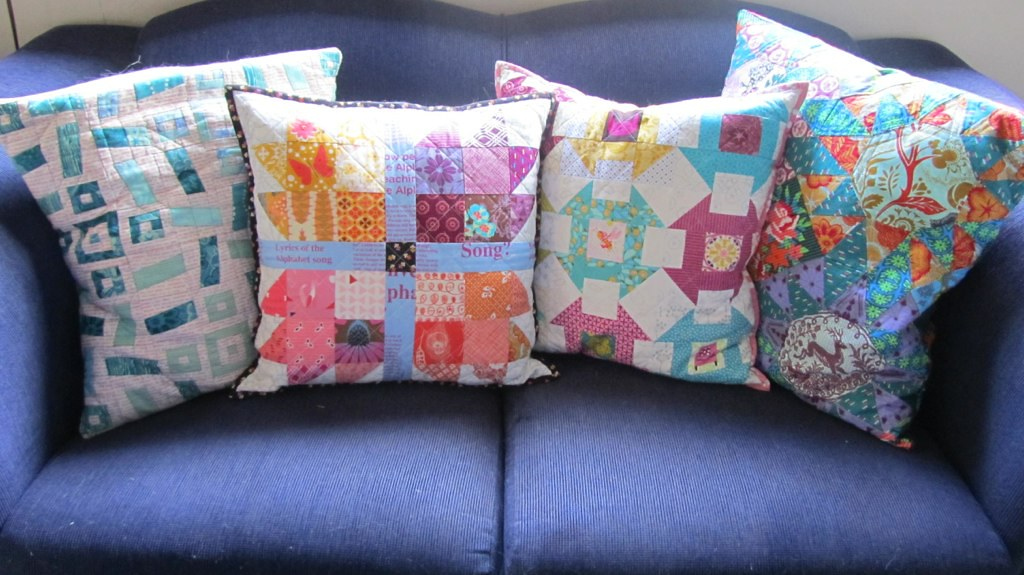 My collection of cushions