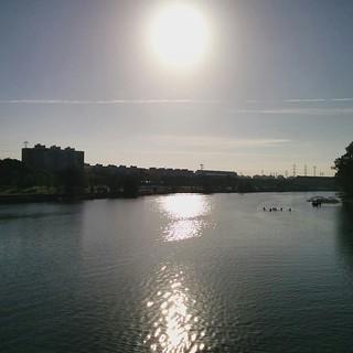 Sol mañanero sobre #Sevilla