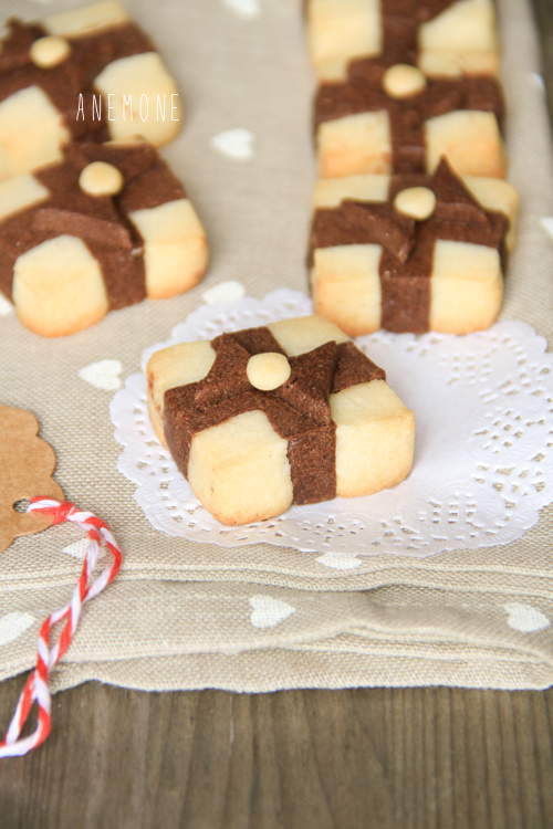 Gift box cookies