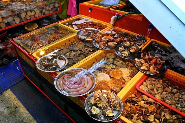 Snails at Jagalchi