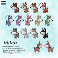 Oh my reindeer!