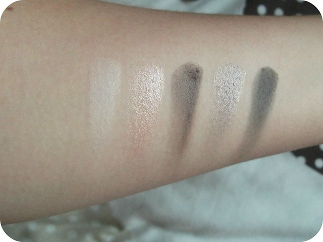 I Heart Passion First Row Swatches