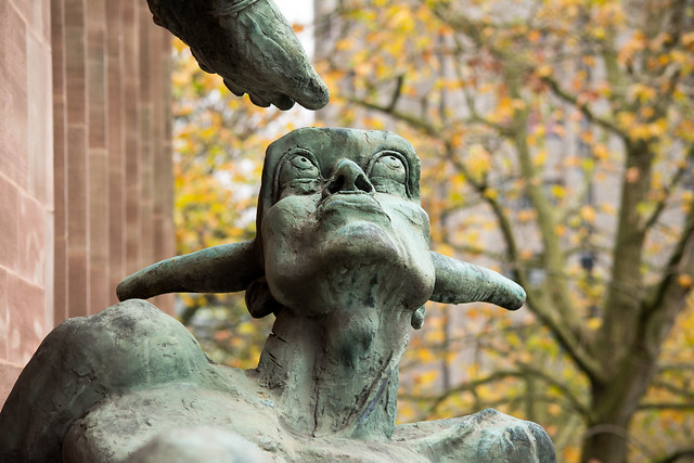 20141016-19_St. Michael's Victory over the Devil (Sir Jacob Epstein 1958)