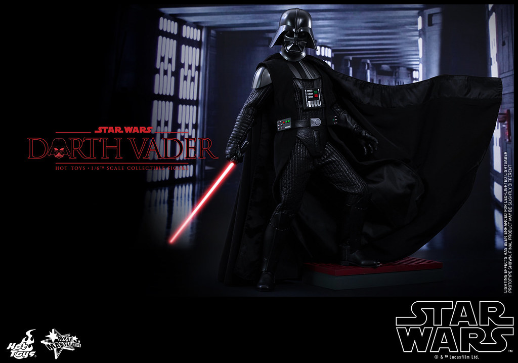 Hot Toys – MMS279 – 星際大戰:四部曲 曙光乍現【達斯·維德】1/6 比例 Star Wars Darth Vader