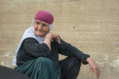 Old women from Beit Jann
