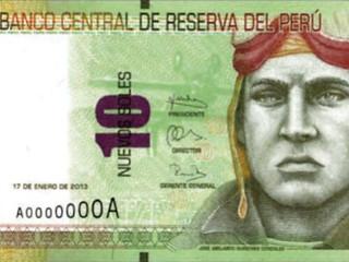 Peru 10 soles banknote