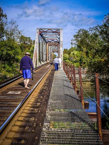 Savannah River from Stokes Bluff with LCU Nov 7, 2014, 4-18 PM Nov 8, 2014, 12-045