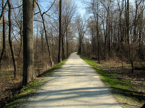 Towpath Trail in Clinton, Ohio