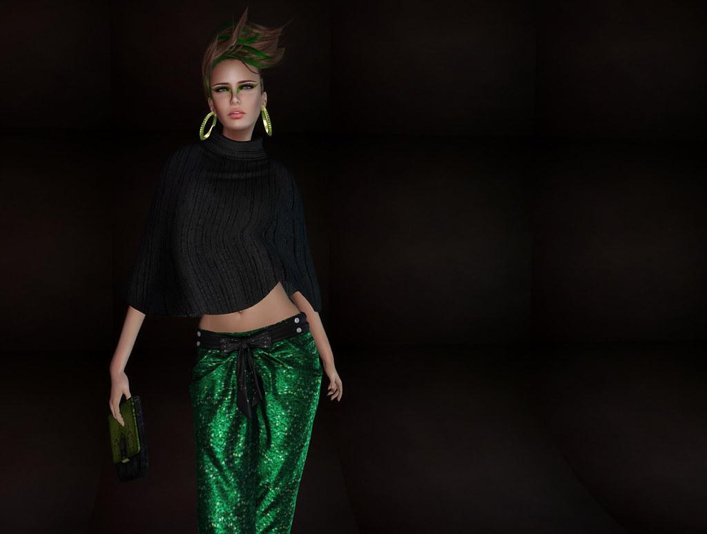 ZE - dance in green