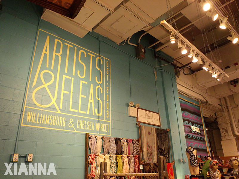 Artists & Fleas at Chelsea Market