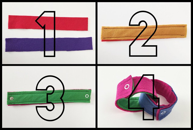 Reusable Felt Countdown Chain