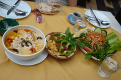 A lunchtime snack in Damascus