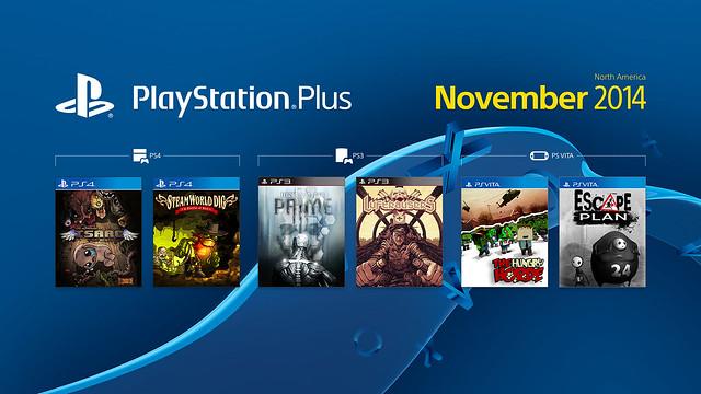 PS Plus November 2014 Lineup