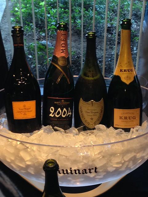 WineSellar Champagne tasting
