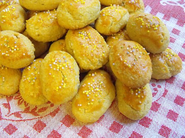 Broinhas de batata doce