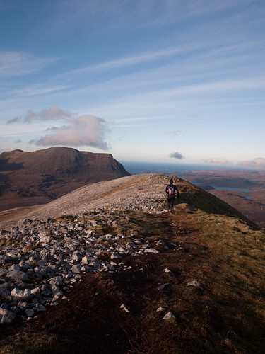 North ridge of Glas Bheinn <br /> (Assynt)