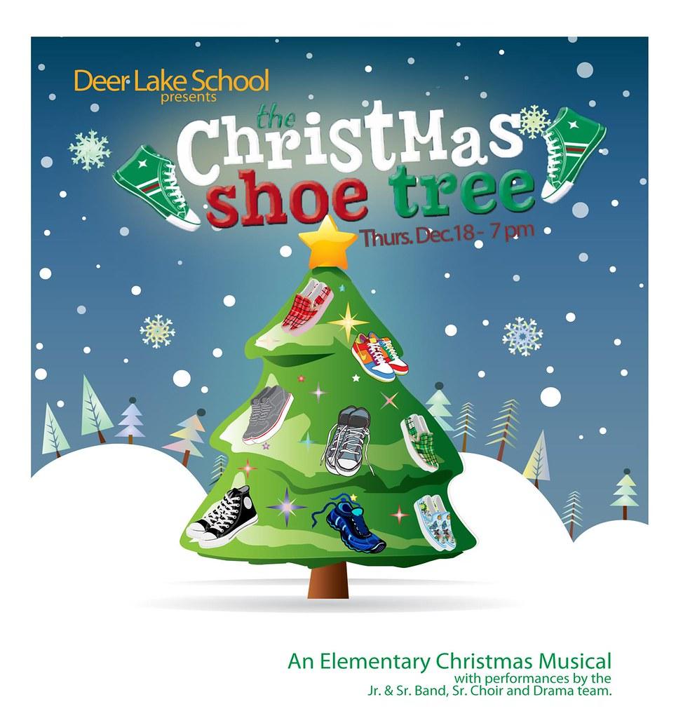 DEER LAKE SCHOOL - CHRISTMAS SHOE TREE