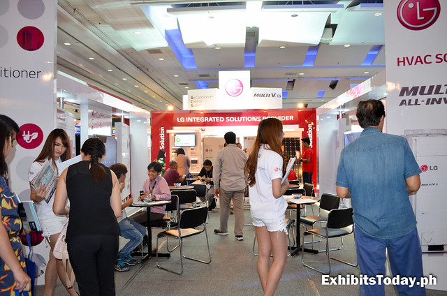 LG Exhibit Booth