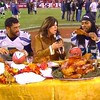 Just another thanksgiving dinner. #lolz #Seahawks