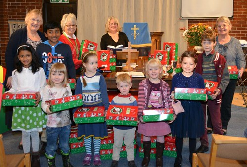 Shoebox Appeal