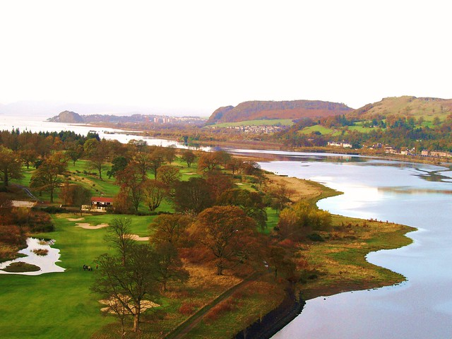 Firth of Clyde from Erskine Bridge, Scotland