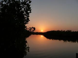 sunrise the Gambia