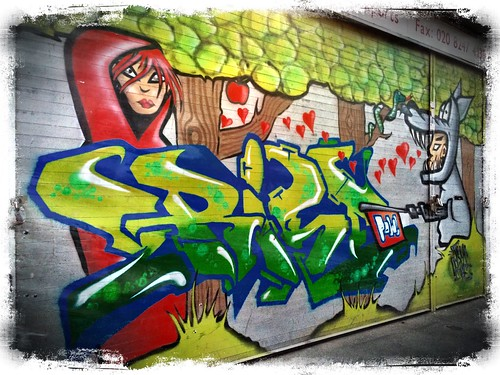 Street Art, White Church Lane