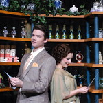 She Loves Me - Photo Credit P. Switzer Photography 2014 - Pictured L-R: Andrew Russell (Georg) and Julia Jackson (Amalia).