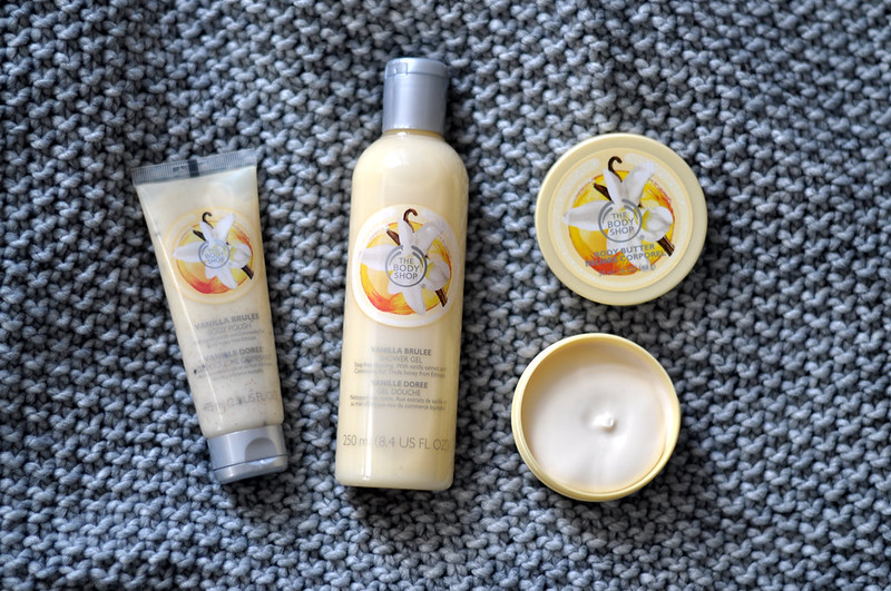 mini reviews the body shop vanilla brulee rottenotter rotten otter blog