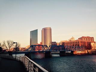 Grand Rapids Skyline 12-11-14