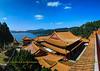 Roof of Wenwu Temple, Nantou Taiwan.