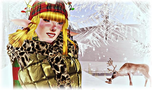 HO HO HOLY ELF... DEER.... winter... uhh... yeah.