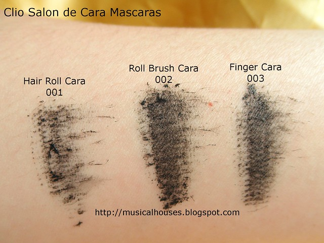 Clio Salon de Mascara Swatch Pre Test
